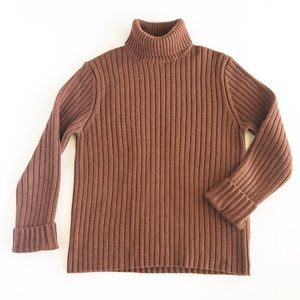 J. Crew Thick Cotton Turtleneck Sweater